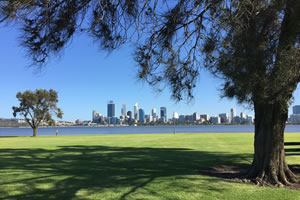Enjoy the view over the Swan river in Perth this Queens Birthday